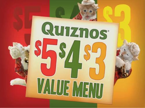 Quiznos still with kittens