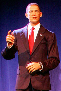 barack obama animatronic